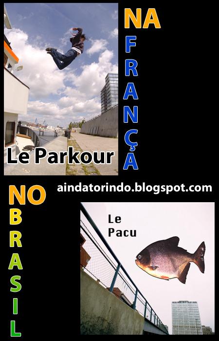 Le parkour no Brasil