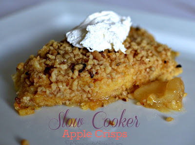 Apple Crisp #SlowCooker #Recipe