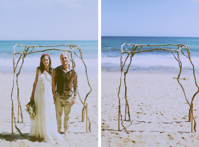 beach wedding vic