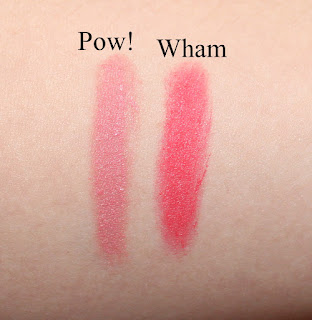 Marc Jacobs Kiss Pop Lip Color Stick in Pow! & Wham