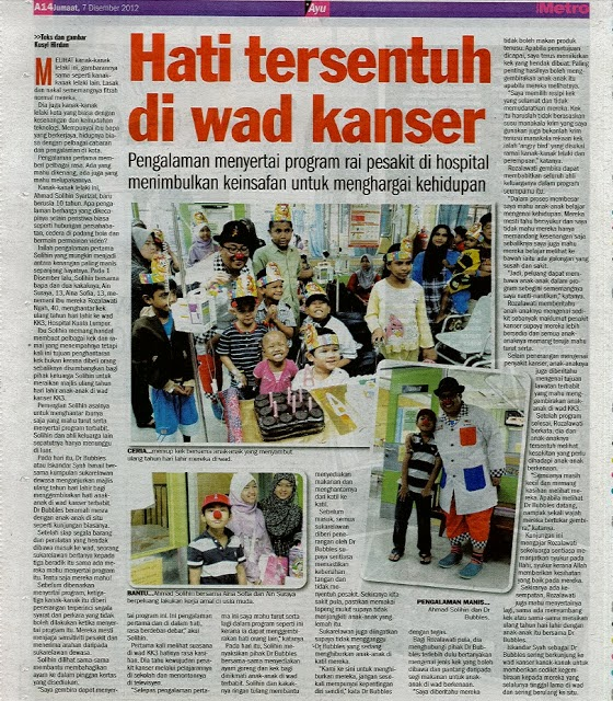 Harian Metro ~ Charity Zone