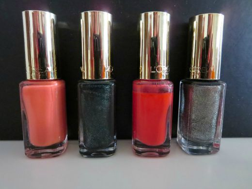 L'Óreal Color Riche nail polishes