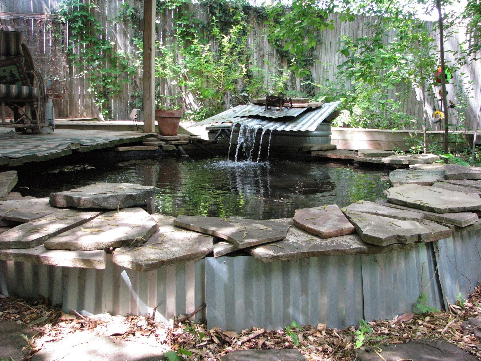 Plano prairie garden speaking of garden tours for Yard water ponds