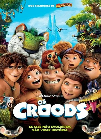 Baixar Filme Os Croods AVI Dual Áudio + RMVB Dublado BDRip Download via Torrent Grátis