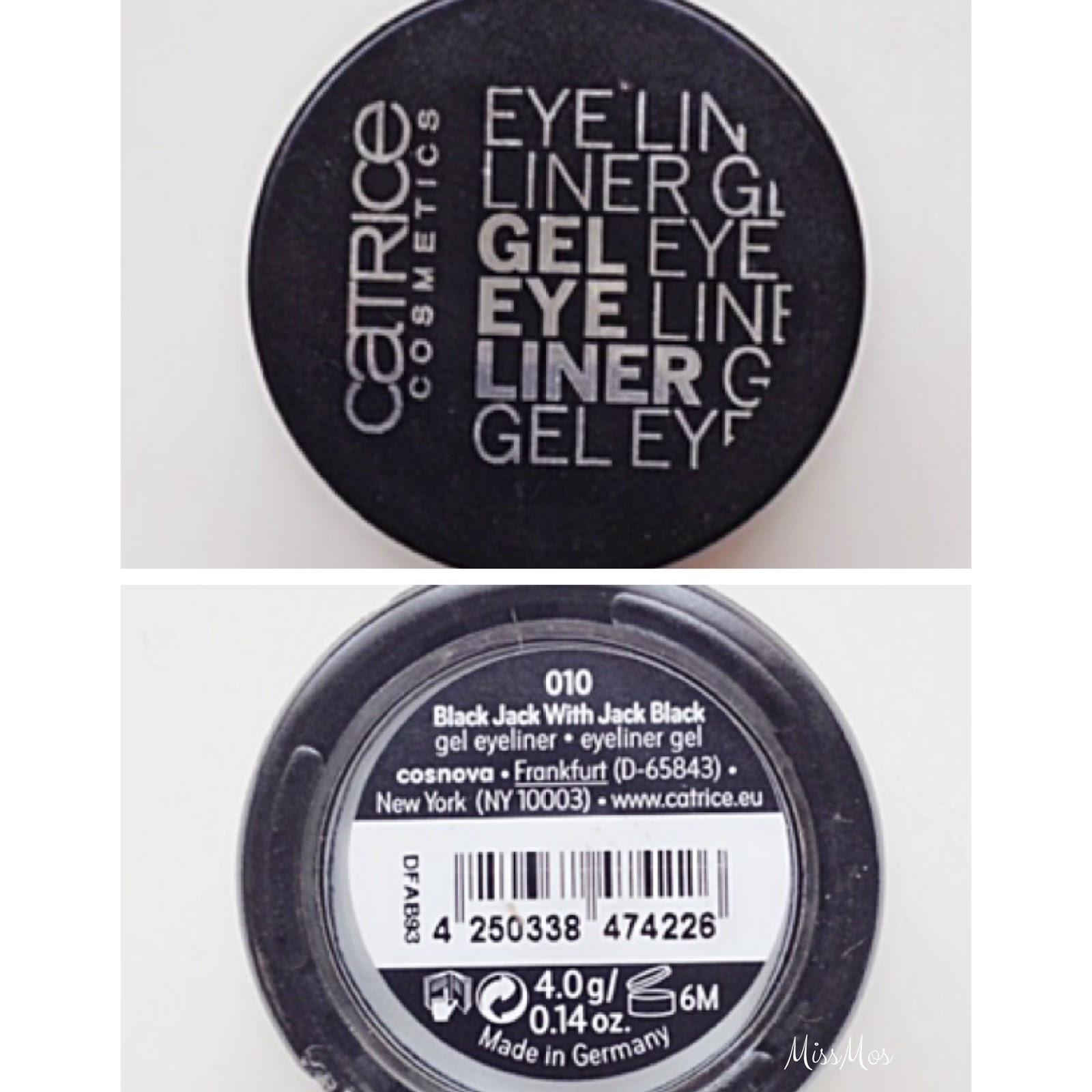 Gel Eye Liner Catrice