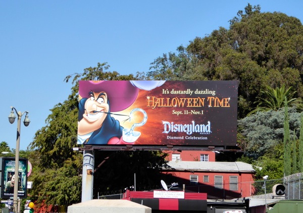 Hook Disneyland Halloween billboard