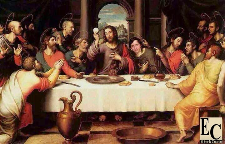 el pequeño nicolas con jesucristo