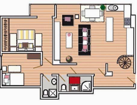 Planos de casas distribuciones planos casas for Casa de diseno economica