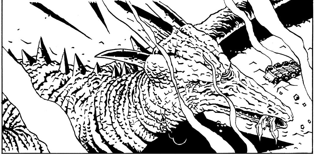 Simon Gane Godzilla Legends Rodan