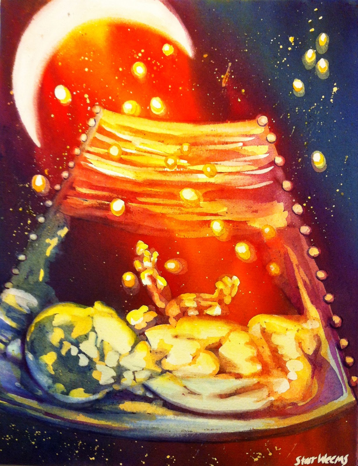 starr weems art blog ultrasound paintings for gifts and