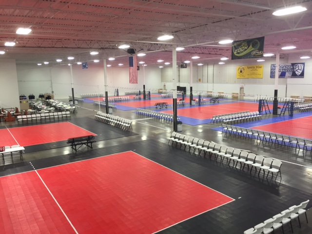The volleyball facility blog for 3000 sq ft gym layout