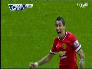 اهداف مباراة مانشيستر يونايتد وبارك رينجيز Manchester United vs Queens Park Rangers - goals -