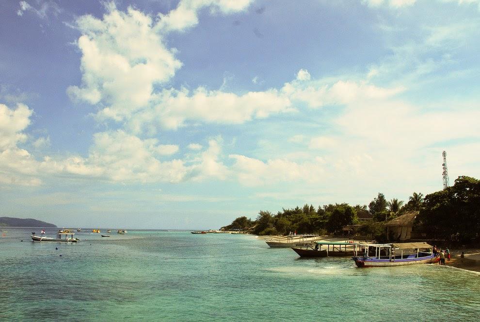 Small island in Lombok, Gili Trawangan