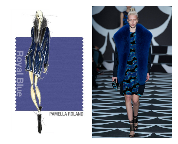 royal blue otoño 2014 pantone