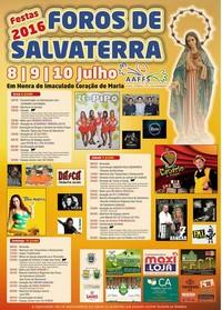 Foros de Salvaterra- Festas Hª Imaculado Coração de Maria 2016- 8 a 10 Julho