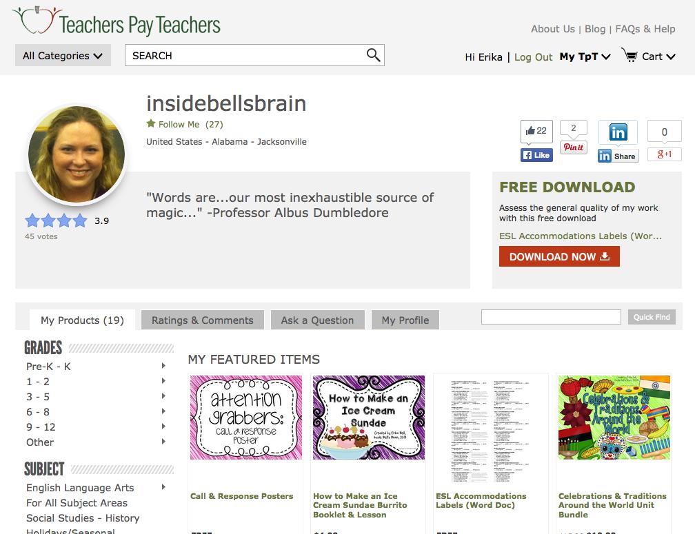 http://www.teacherspayteachers.com/Store/Insidebellsbrain