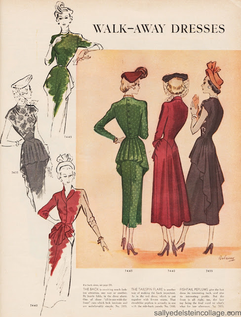 forties fashions from mccalls retroarama