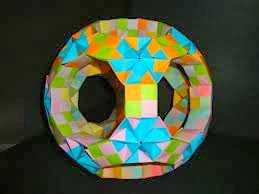 Modular Origami Is Another Type Of Which Uses Two Or More Papers To Create Larger Complex Kind Structure
