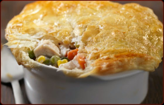 Chicken Pot Pie with Puffed Pastry