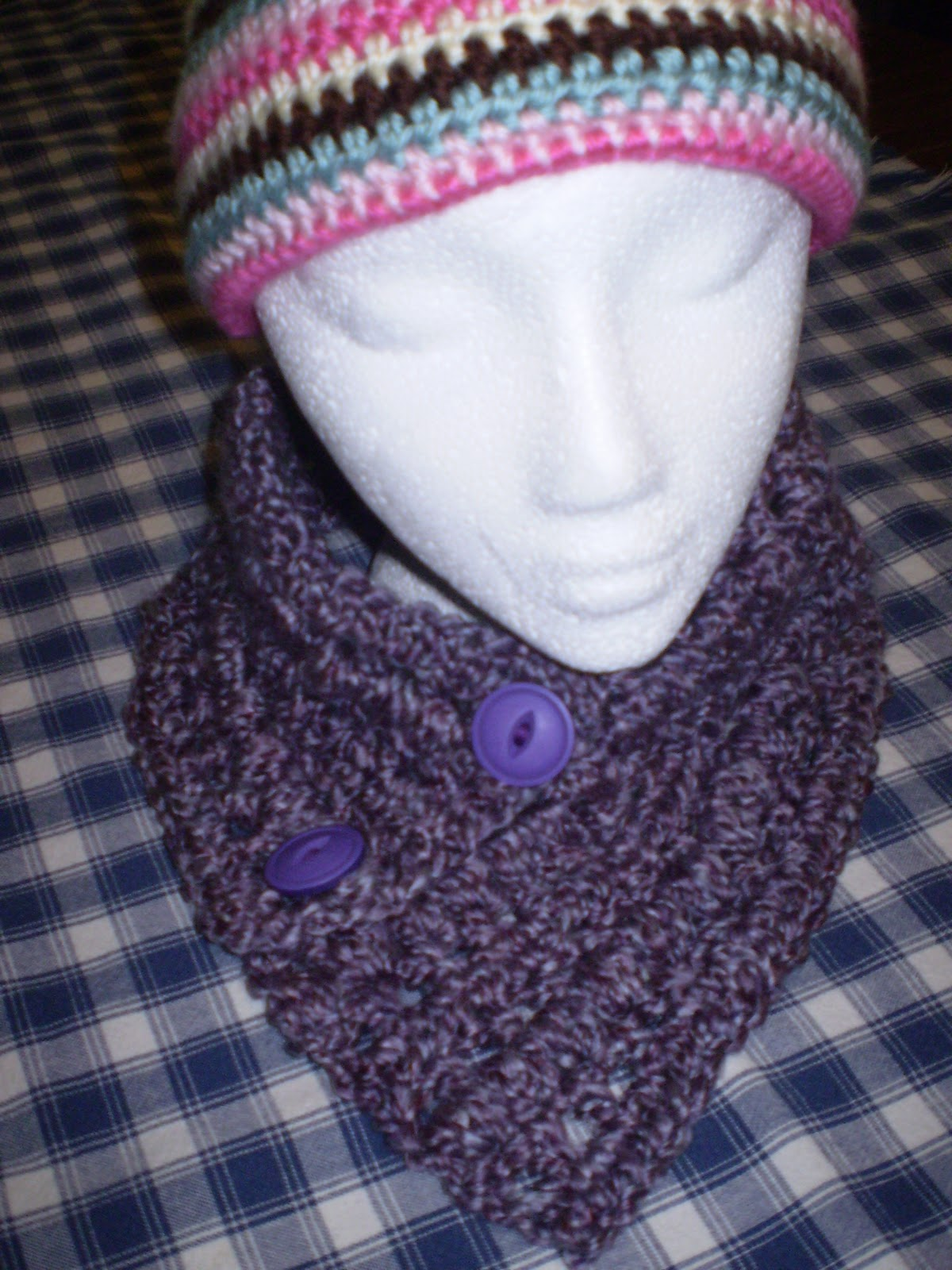 how to make a crochet neck warmer