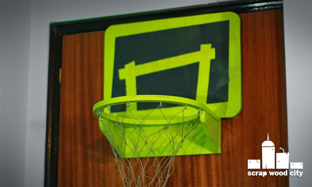 Scrap wood city how to make wooden basketball hoop for for How to build a basketball goal