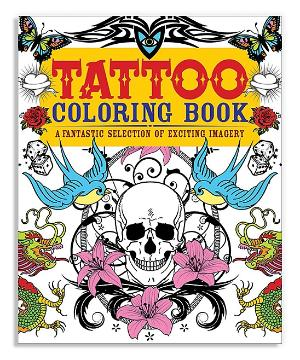 Tattoos Are More Popular Than Ever So A Few Of The Adult Coloring Books Already Cashing In On This Trend With Their Own Color Me Tattoo Ideas
