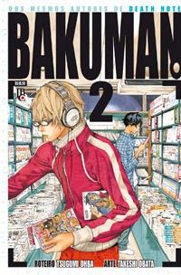 Bakuman, Death Note, histórias em quadrinhos, JBC, mangá, Shonen Jump, Takeshi Obata, Tsgumi Ohba, Volume 2,