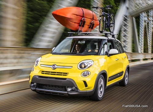 Fiat 500L Canoe Carrier