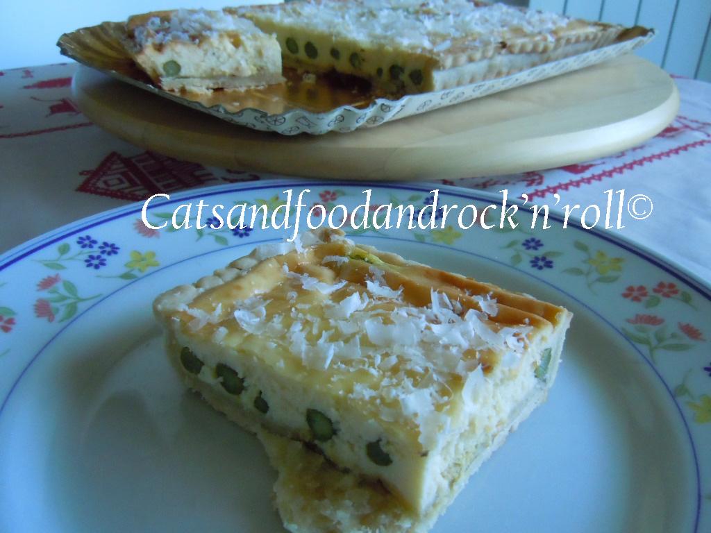 quiche agli asparagi e parmigiano di jamie oliver (pressappoco)