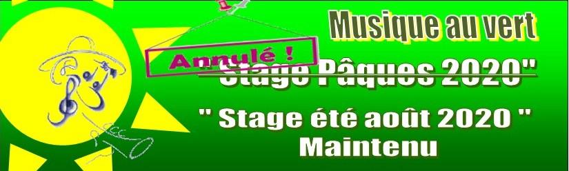 """"""" Musique au vert """" : Marbehan du 13 au 18 avril 2020"""
