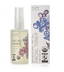 acure facial rose water red tea toner