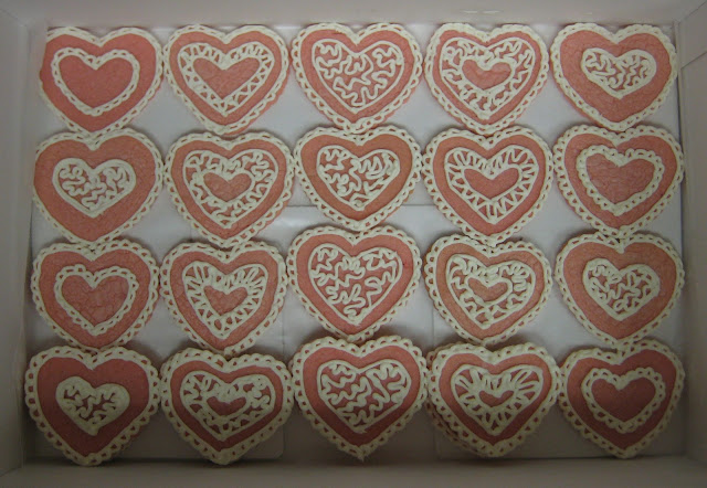 Valentine's Day Heart Cookies 2