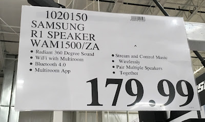 Deal for the Samsung Radiant360 R1 Speaker (model WAM1500) at Costco