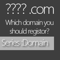 Which domain name you should register?
