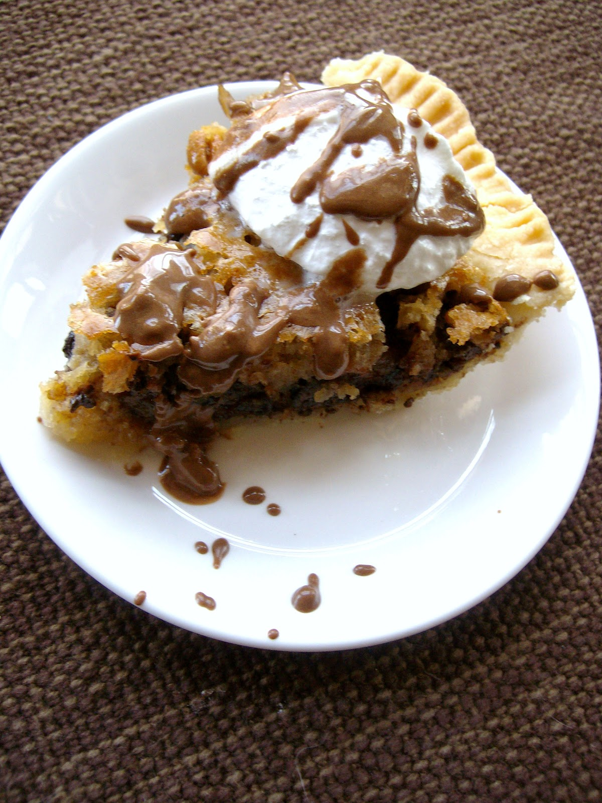 The Foodie RD: Chocolate Chip Cookie Pie