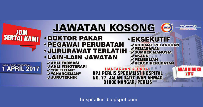 Jawatan Kosong Pembantu Farmasi Hospital Swasta 2018 Kerkosi