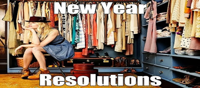 Happy New Year - 2014, Design A Wardrobe - New Year Resolutions
