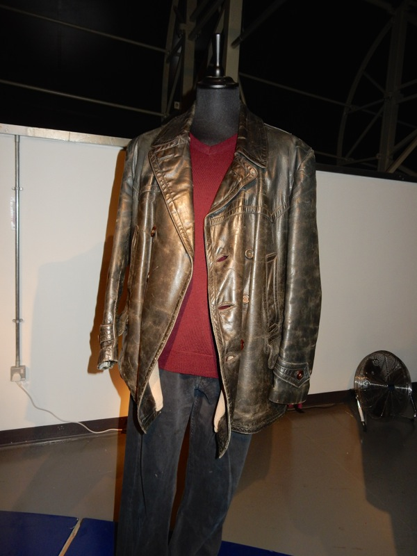 Christopher Eccleston Ninth Doctor Who costume