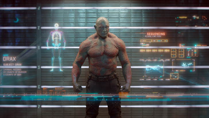 drax the destroyer in guardians of the galaxy