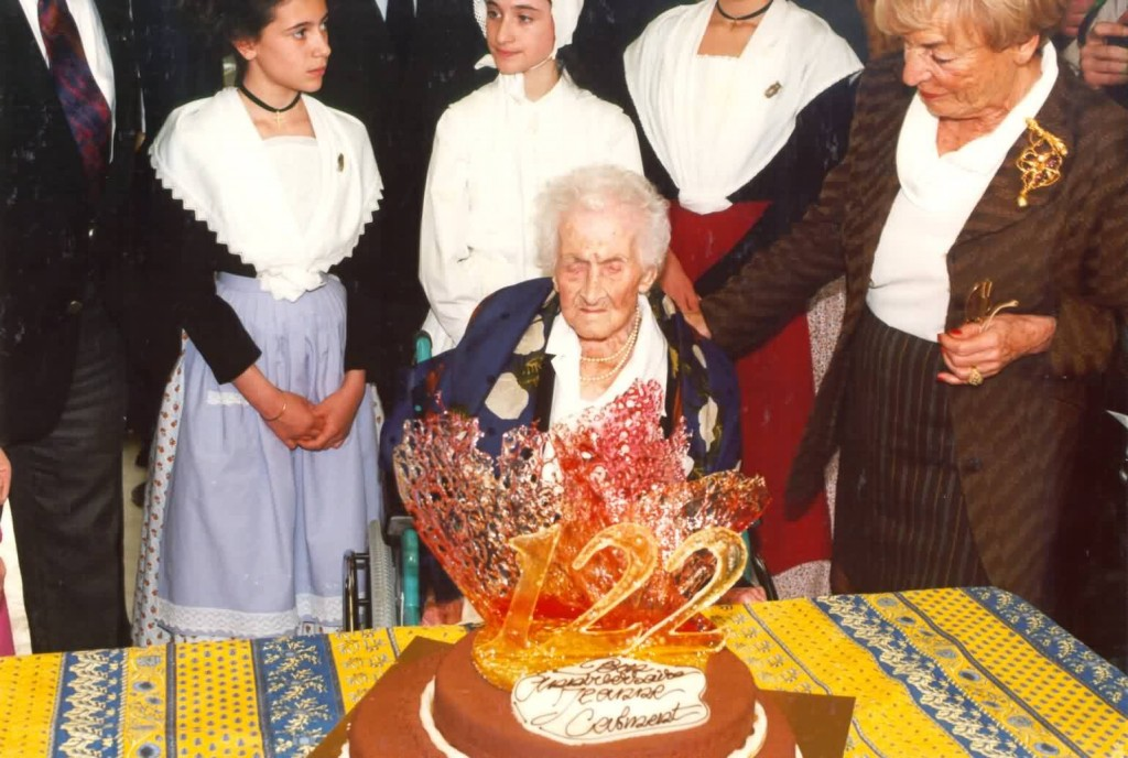 Jeanne Calment died on 4 August 1997 aged ...