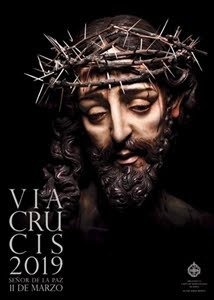 CARTEL OFICIAL VÍA-CRUCIS HERMANDADES 2019