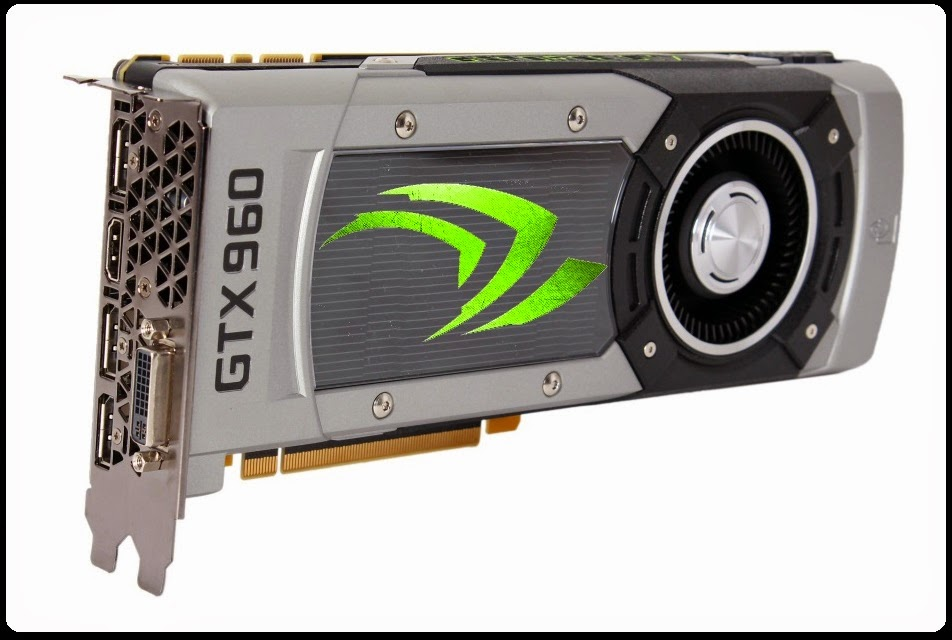 Spesifikasi VGA Card NVIDIA GeForce GTX 960