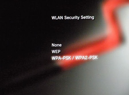 Konsola PS3 - wlan security setting