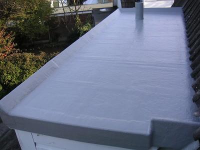 Fibreglass Flat Roofing