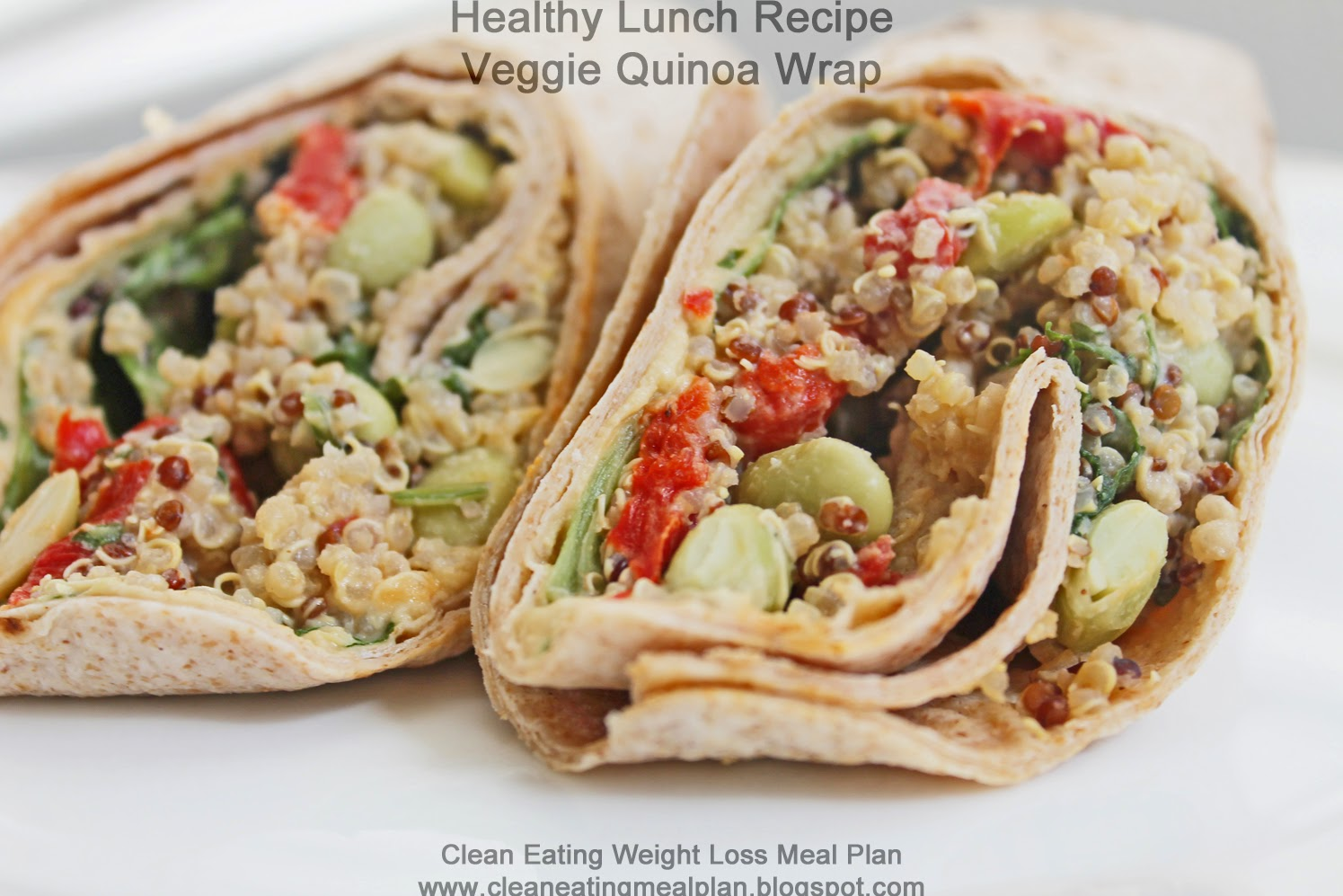 how to make veggie wraps for lunch