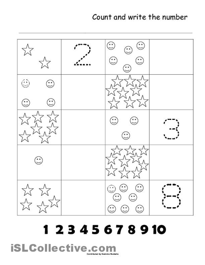 Practice Kindergarten Math Kindergarten Math Worksheets