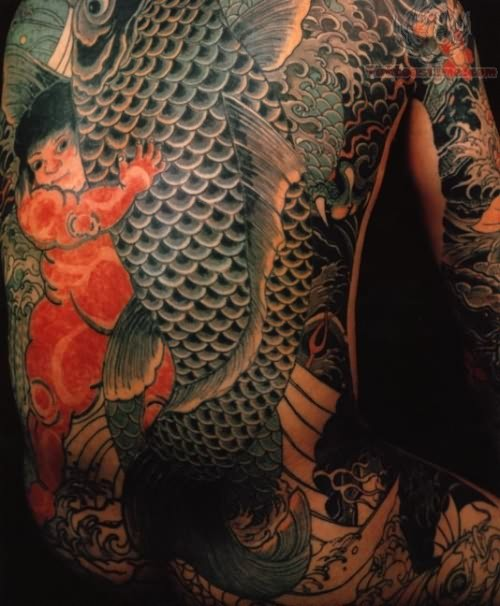 koi fish tattoo photos