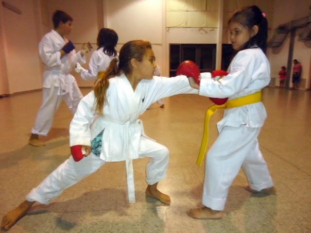 Practica de Kumite