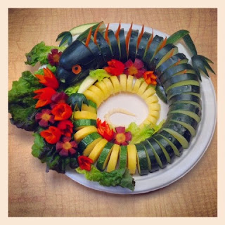 Iguana Veggie Platter