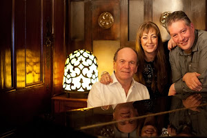Glenn Shorrock with Wendy Matthews and I